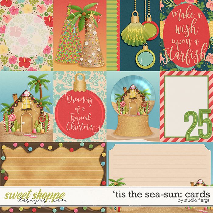 'Tis the Sea-sun: CARDS by Studio Flergs