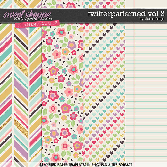 Twitterpatterned VOL 2 by Studio Flergs