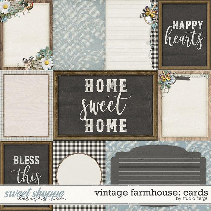 Vintage Farmhouse: CARDS by Studio Flergs