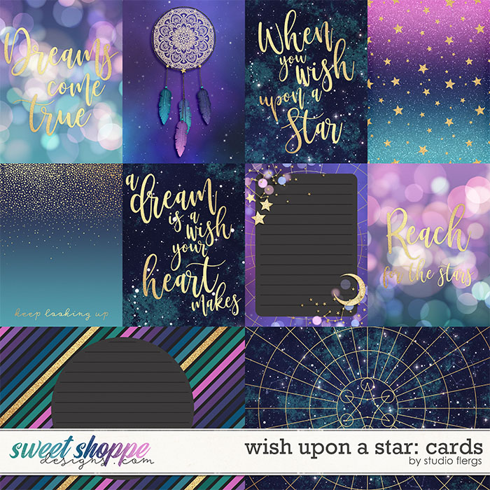 Wish Upon a Star: CARDS by Studio Flergs