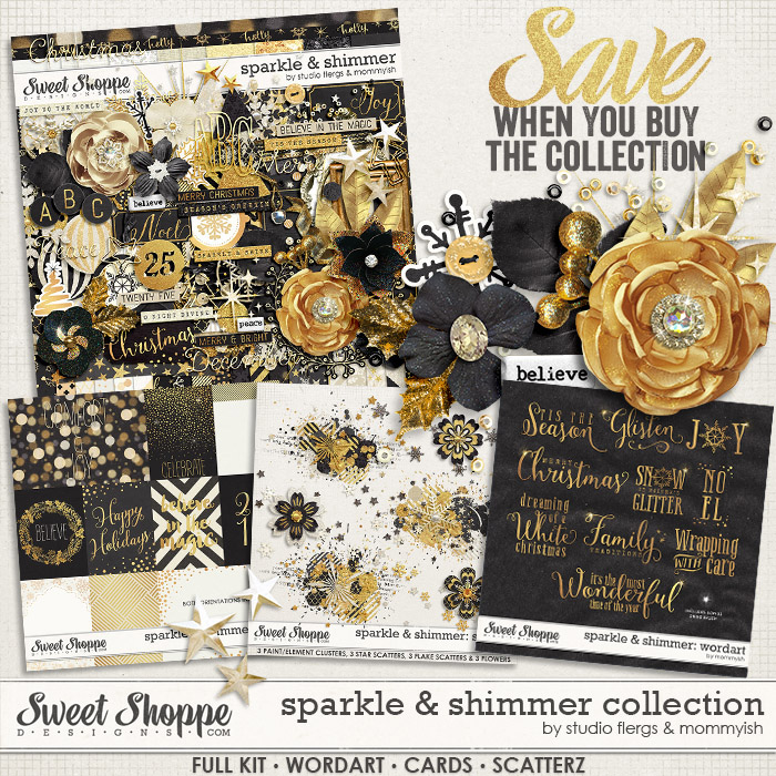 sparkle & shimmer: COLLECTION by Studio Flergs & Mommyish
