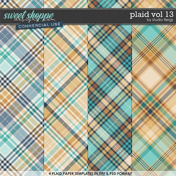 Plaid VOL 13 by Studio Flergs