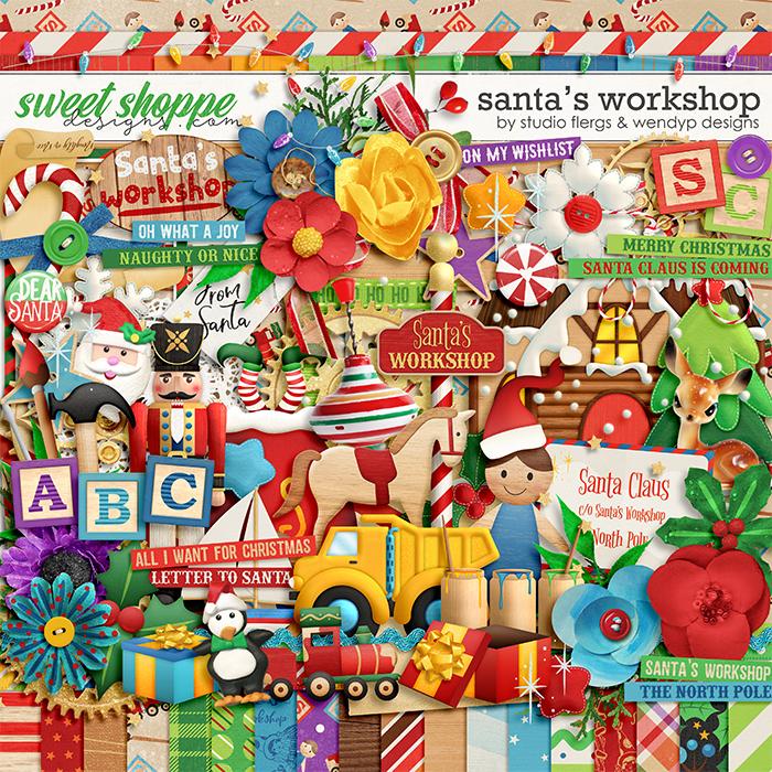 Santa's workshop by Studio Flergs & WendyP Designs