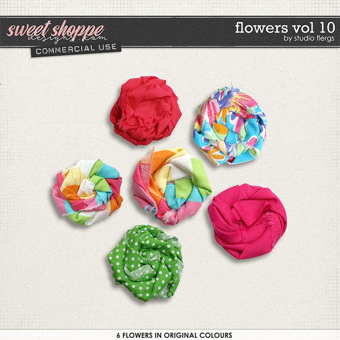 Flowers VOL 10 by Studio Flergs