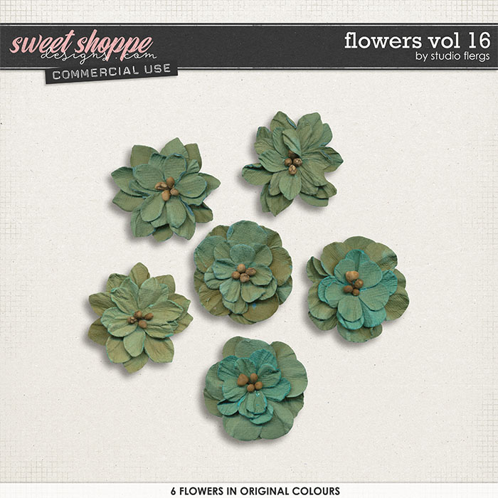 Flowers VOL 16 by Studio Flergs