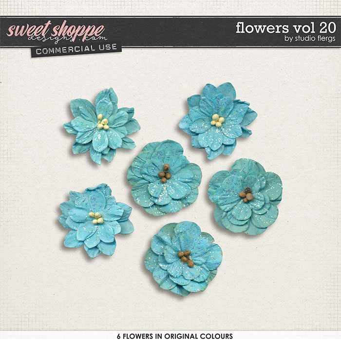 Flowers VOL 20 by Studio Flergs