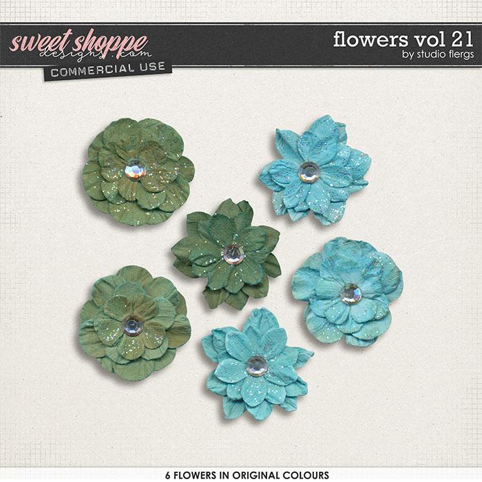 Flowers VOL 21 by Studio Flergs