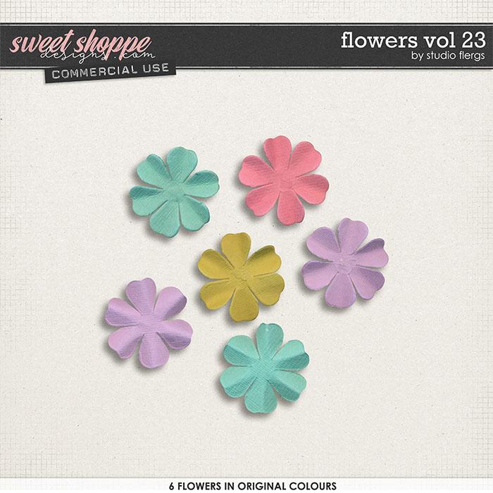 Flowers VOL 23 by Studio Flergs