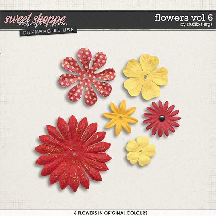 Flowers VOL 6 by Studio Flergs