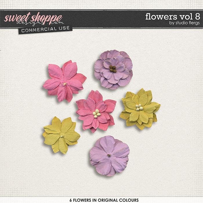 Flowers VOL 8 by Studio Flergs