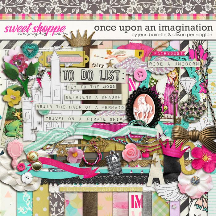 Once Upon An Imagination by Jenn Barrette and Allison Pennington