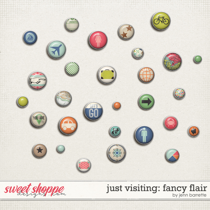 Just Visiting: Fancy Flair by Jenn Barrette