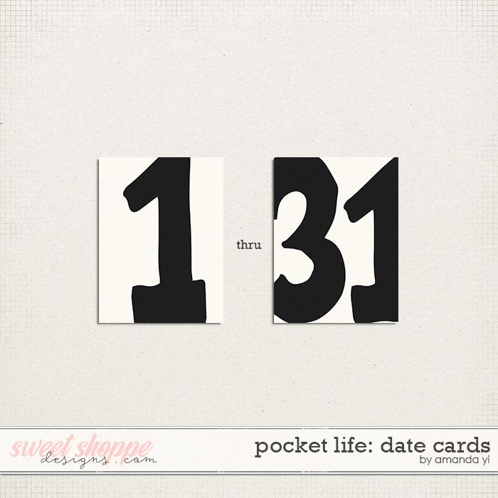 Pocket Life: Date Cards by Amanda Yi