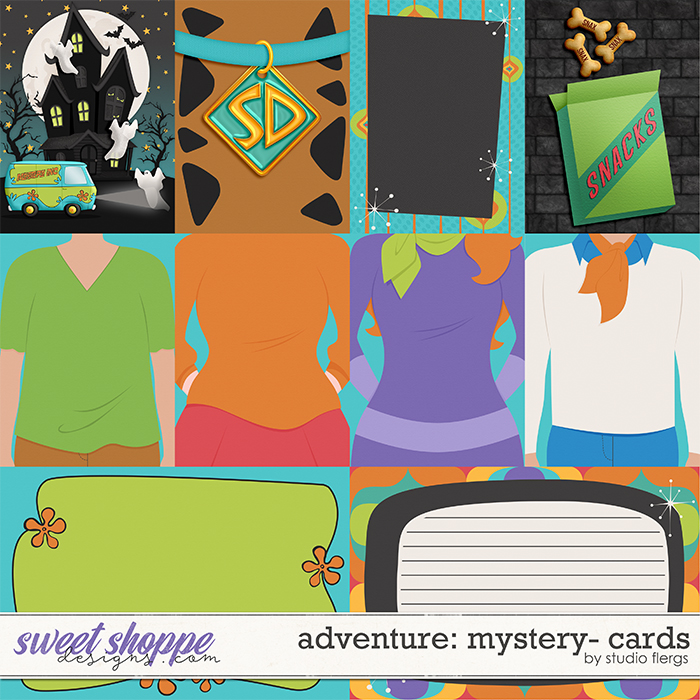 Adventure: Mystery- CARDS by Studio Flergs