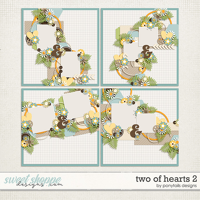 Two of Hearts 2 by Ponytails