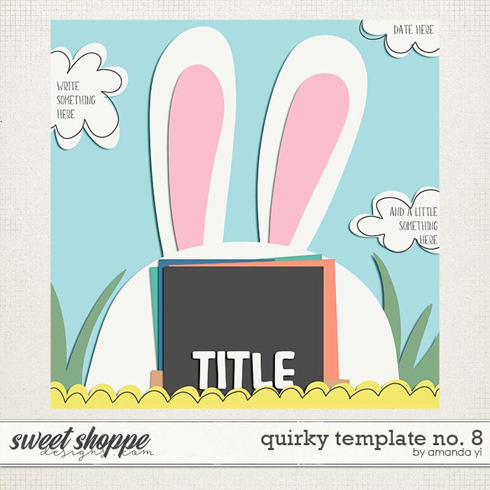 Quirky template no. 8 by Amanda Yi