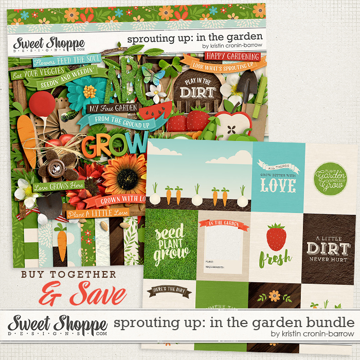 Sprouting Up: In the Garden: Bundle by Kristin Cronin-Barrow