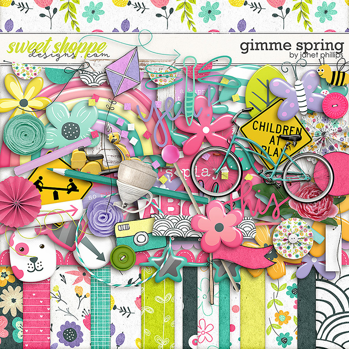 Gimme Spring by Janet Phillips