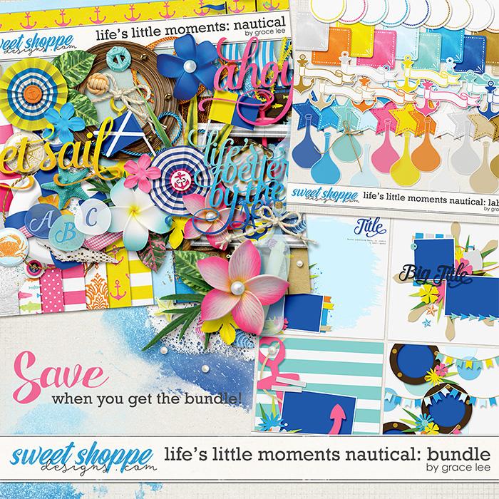 Life's Little Moments Nautical: Bundle by Grace Lee