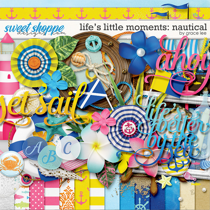 Life's Little Moments Nautical by Grace Lee