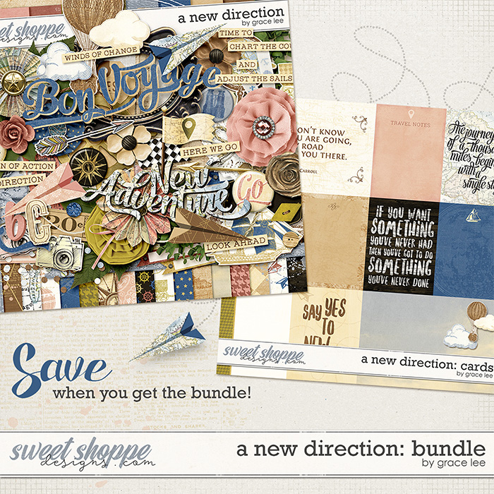 A New Direction: Bundle by Grace Lee