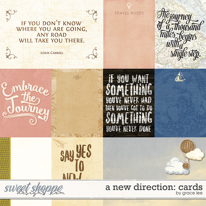 A New Direction: Cards by Grace Lee