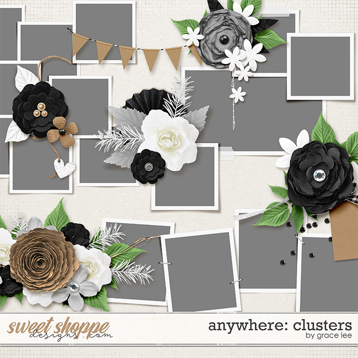 Anywhere: Clusters by Grace Lee