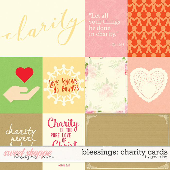 Blessings: Charity Cards by Grace Lee