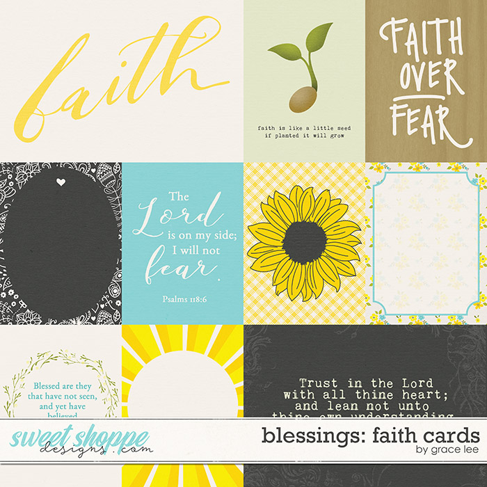 Blessings: Faith Cards by Grace Lee