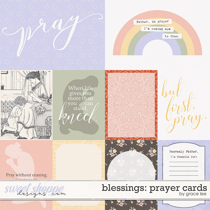 Blessings: Prayer Cards by Grace Lee