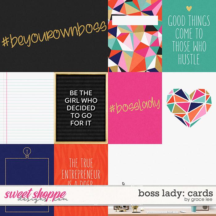 Boss Lady: Cards by Grace Lee