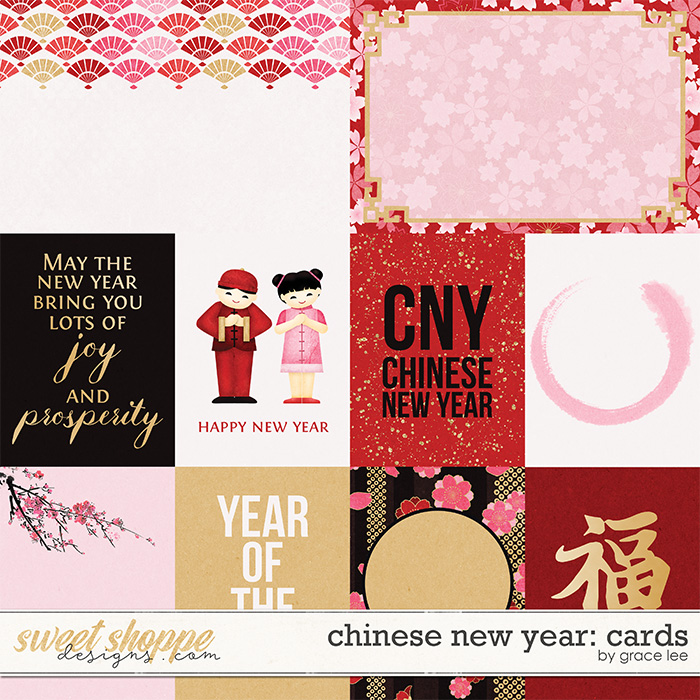 Chinese New Year: Cards by Grace Lee