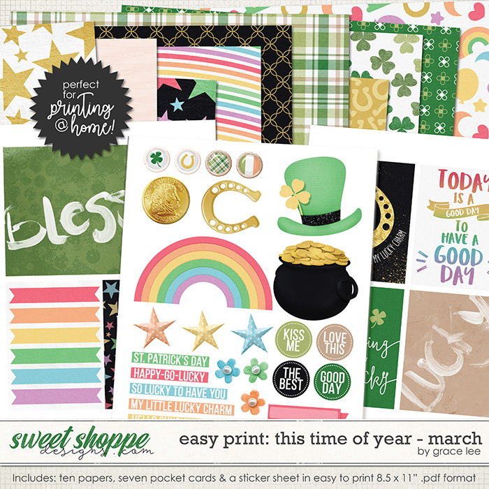 Easy Print: This Time of Year March by Grace Lee