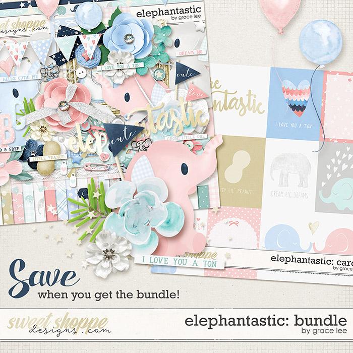 Elephantastic: Bundle by Grace Lee