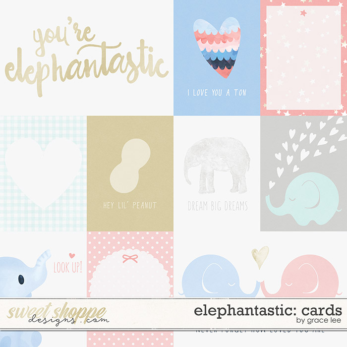 Elephantastic: Cards by Grace Lee