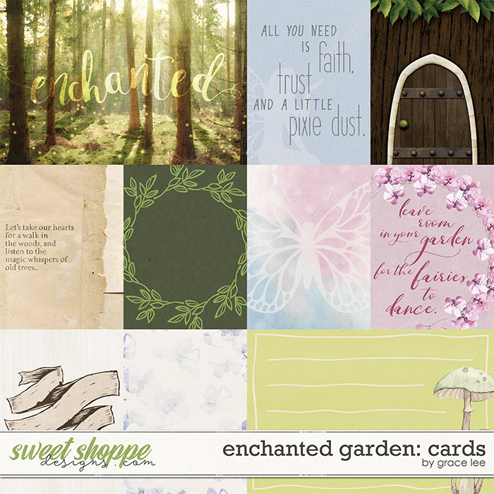 Enchanted Garden: Cards by Grace Lee