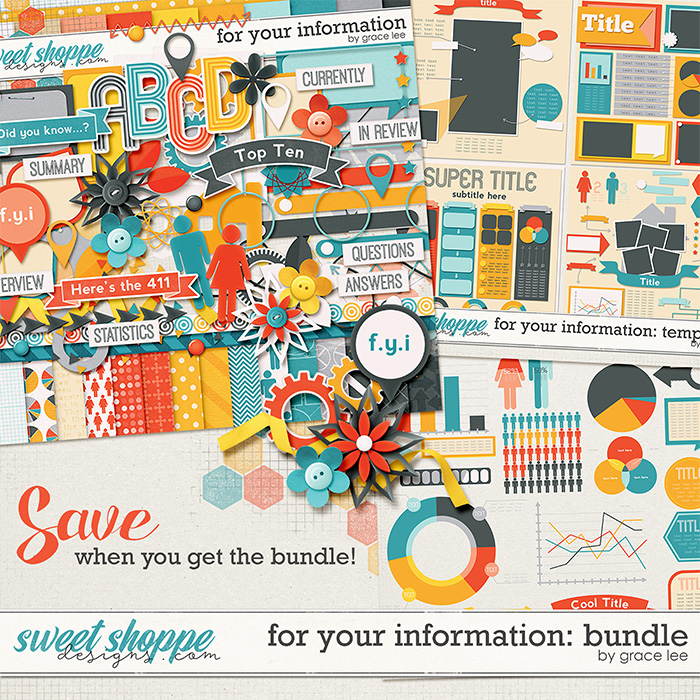 For Your Information: Bundle by Grace Lee
