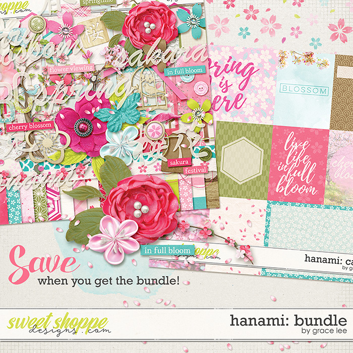 Hanami: Bundle by Grace Lee