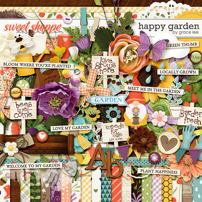 Happy Garden by Grace Lee