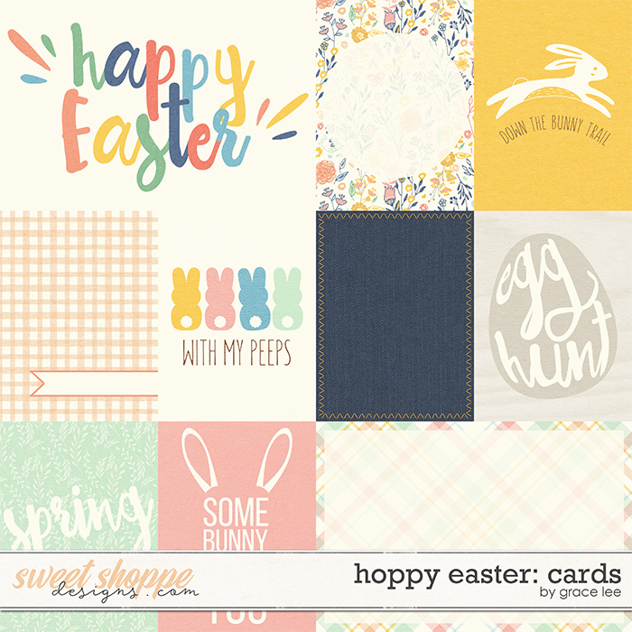 Hoppy Easter: Cards by Grace Lee