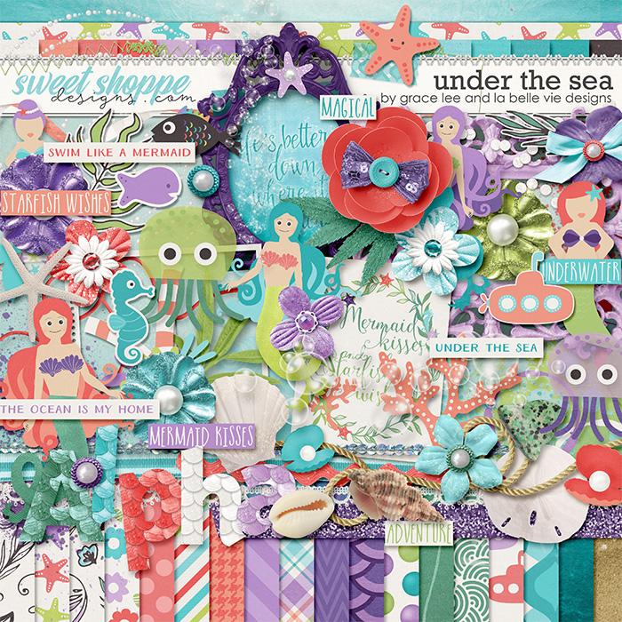 Under The Sea by Grace Lee and La Belle Vie Designs