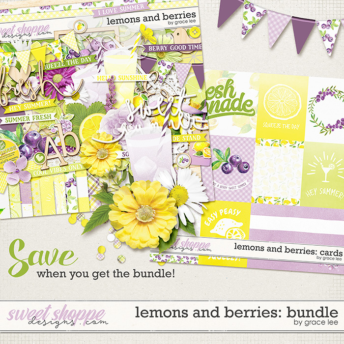 Lemons and Berries: Bundle by Grace Lee