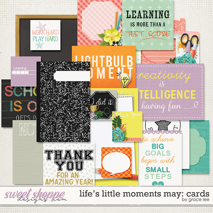Life's Little Moments May Cards by Grace Lee