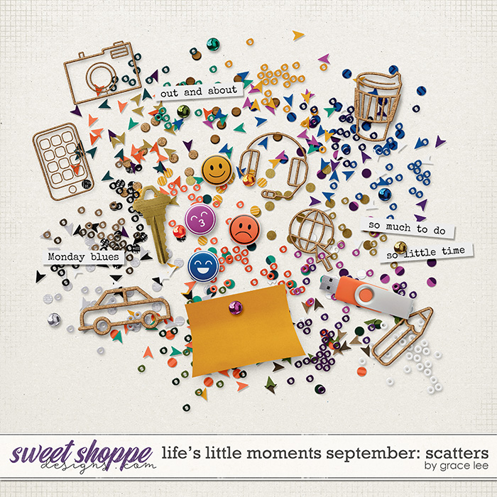 Life's Little Moments September: Scatters by Grace Lee