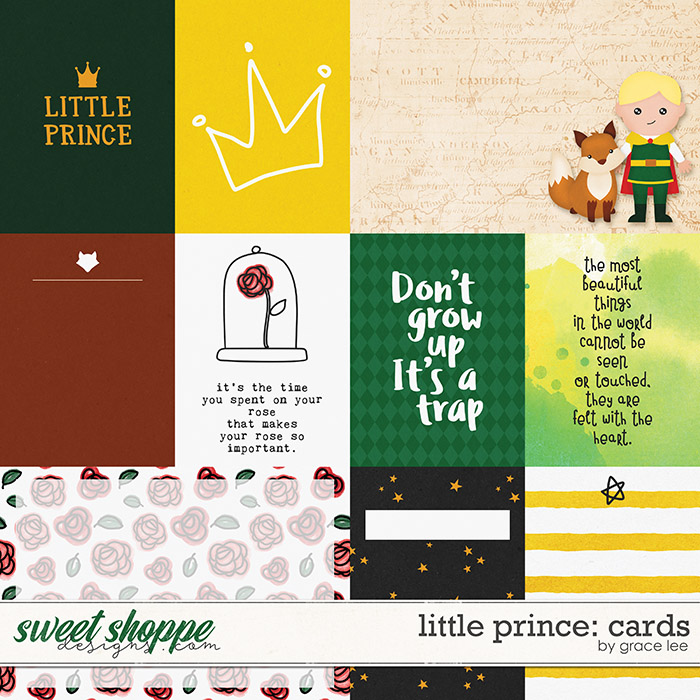 Little Prince: Cards by Grace Lee