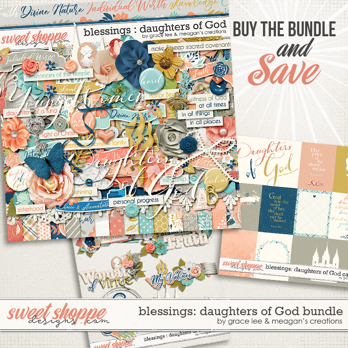 Blessings: Daughters of God Bundle by Grace Lee and Meagan's Creations