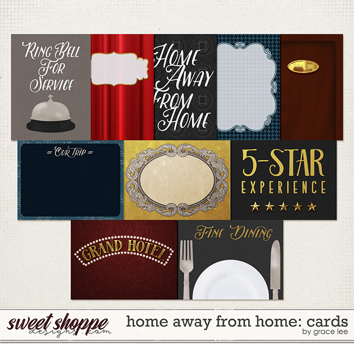Home Away From Home: Cards by Grace Lee