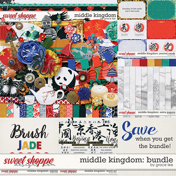 Middle Kingdom: Bundle by Grace Lee
