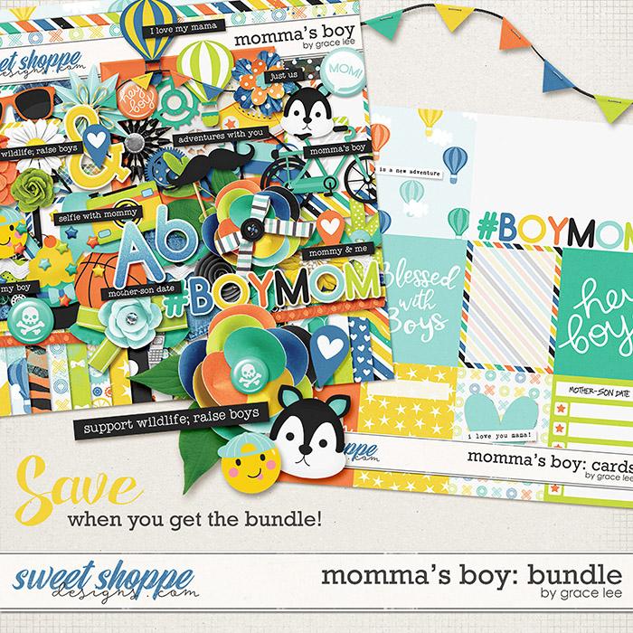 Momma's Boy: Bundle by Grace Lee