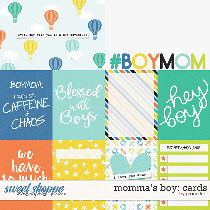 Momma's Boy: Cards by Grace Lee